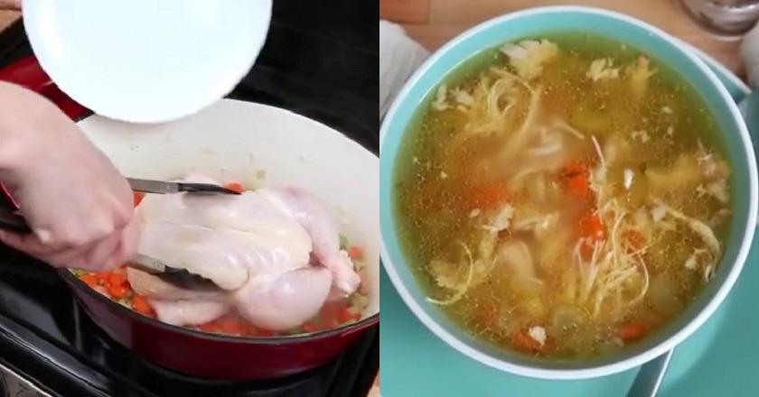 Что приготовить на первое из курицы рецепты