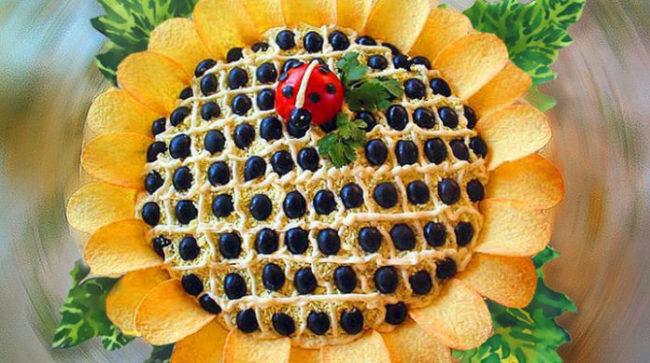 Салат Мимоза с консервированной горбушей  рецепт с фото