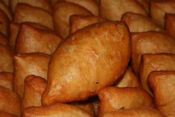 пирожки с картошкой и фаршем жареные