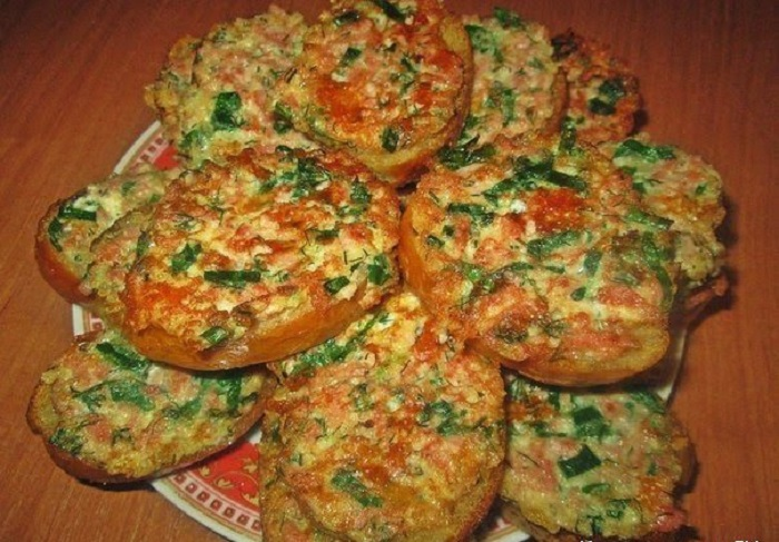 Бутерброды на сковороде рецепт