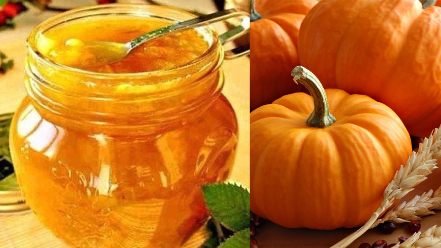 Варенье из замороженной тыквы с апельсином
