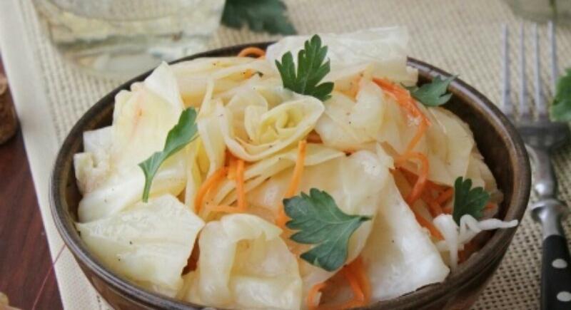 Вкуснейшая капуста, маринованная кусочками
