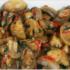 Грибы, тушенные в маринаде с чесночном и чили