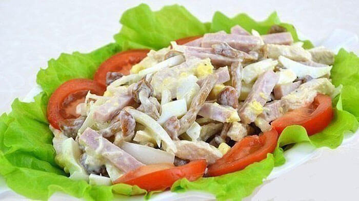 """Мясной салат """"Мужская мечта"""""""