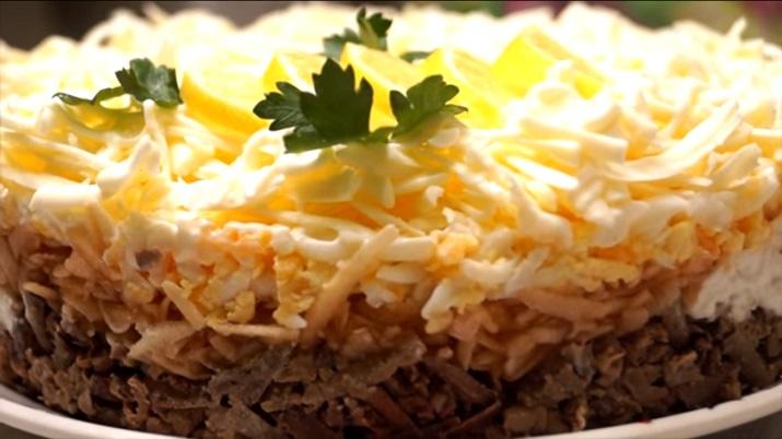 Салат «Печень под шубой»: просто объедение