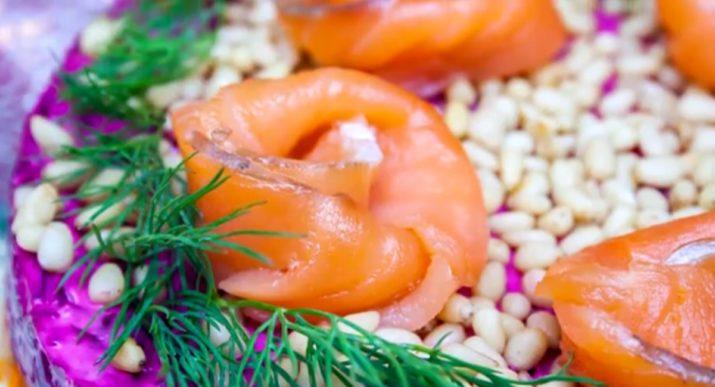 Оригинальный салат «Королевская шуба»