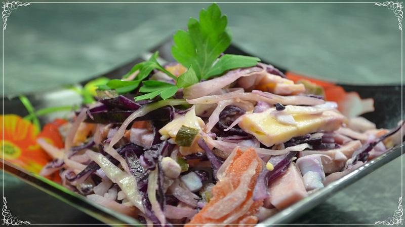Зимний овощной салат из капусты: такого вы еще не пробовали