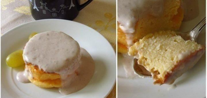 Самый полезный завтрак: творожная запеканка со сливочно-банановым соусом