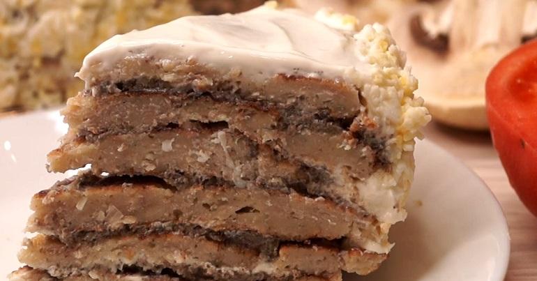 Закусочный торт «Добрый муж»: вкусно, красиво и прикольно