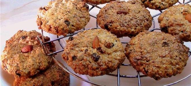 Овсяное печенье - простой рецепт