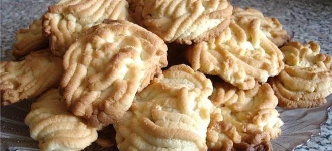 Печенье на майонезе - простой рецепт
