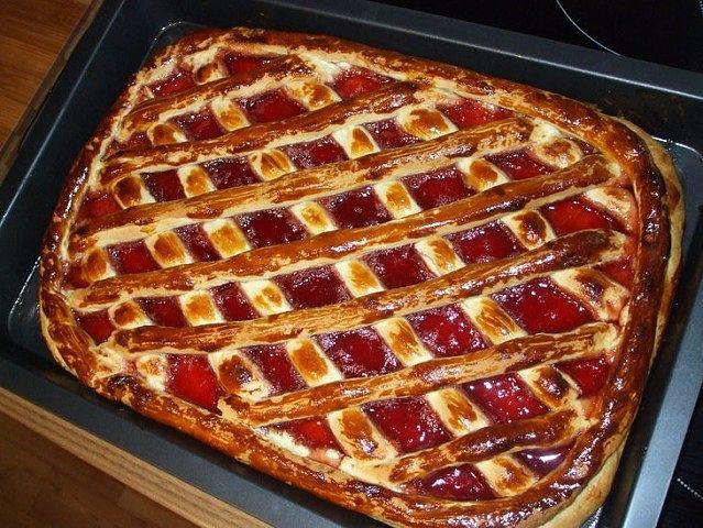 рецепт экономного пирога с вареньем