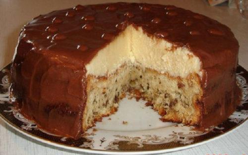 Торт-«Эскимо»