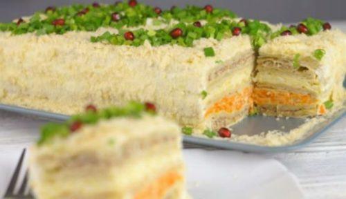 Закусочный-торт-Наполеон