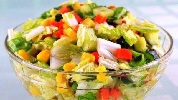 7 вкусных салатов без майонеза