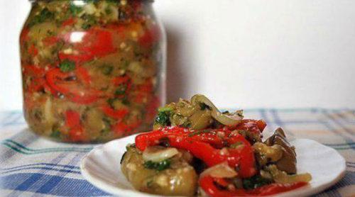 Маринованный-салат-из-баклажанов