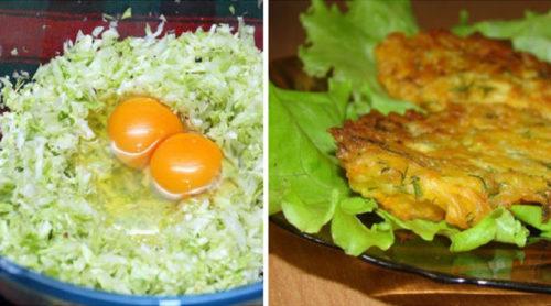Отменные-капустные-оладьи-на-кефире