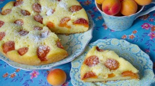 Абрикосовый-пирог