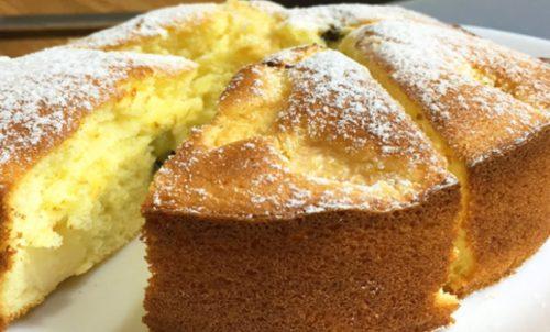 Бисквитный-пирог