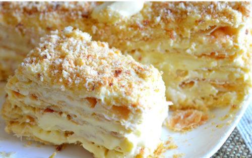 Изумительный-торт-Наполеон