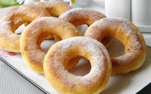 Пончики-на-кефире
