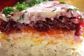 Свекольный-салат-Генерал