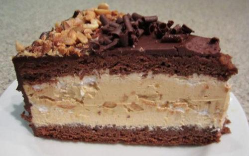 Торт-Сникерс