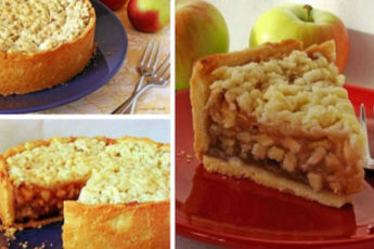 Австрийский-яблочный-пирог