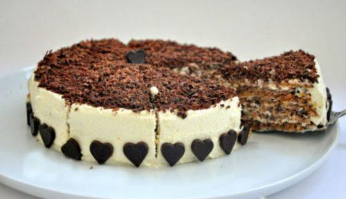 Итальянский-ореховый-торт