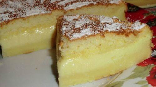 Лентяйкино-пирожное