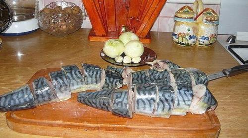 Маринуем-скумбрию