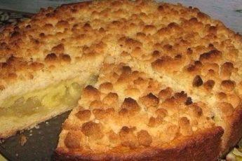 Царский-яблочный-пирог