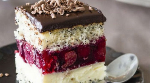 Торт-Вишневая-фантазия