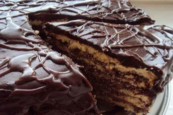 Торт-на-кефире-Черный-принц
