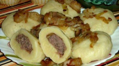 Украинские-галушки-с-мясом