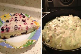 Ягодный-пирог