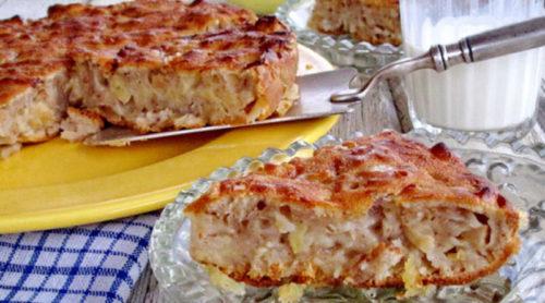французский-яблочный-пирог