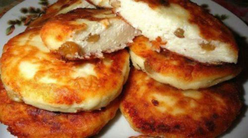 Рецепт-сырников