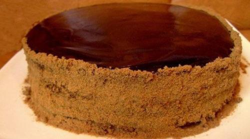 Шоколадный-медовик-Дамский-каприз