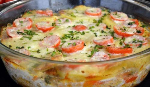 Запеканка-картофельная-с-фаршем-и-овощами