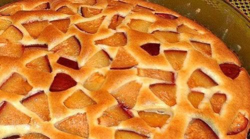 фруктовый-пирог