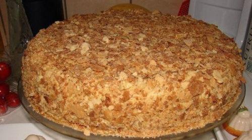 торт-Наполеон-за-пол-часа