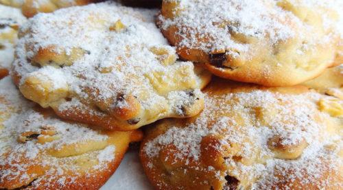 Быстрое-яблочное-печенье