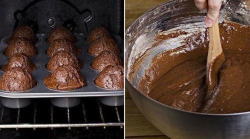 Быстрые-шоколадные-кексы