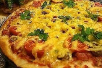Невероятно-вкусная-тонкая-итальянская-пицца