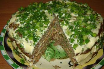 Печеночный-торт