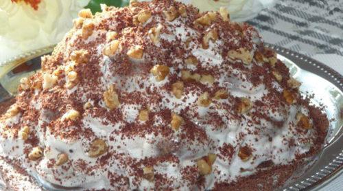 Пряничный-торт-без-выпечки