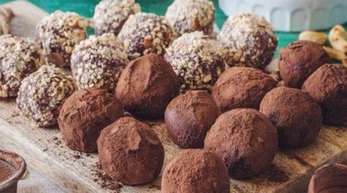 Шоколадно-кофейные-трюфели