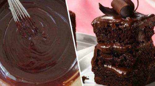 Шоколадный-пирог-на-кефире-на-скорую-руку