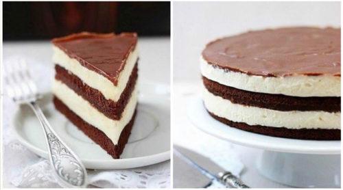 Шоколадный-торт-Милка